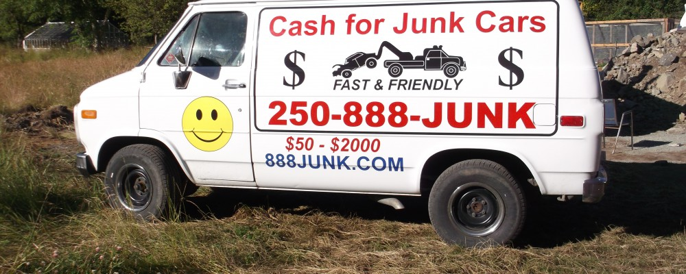 888 Junk pickup van